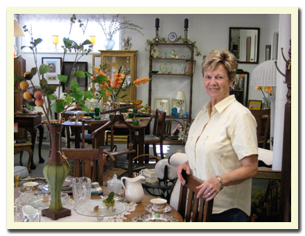 Photo of Jan's Antiques, Etc. - Owner, Jan Armstrong